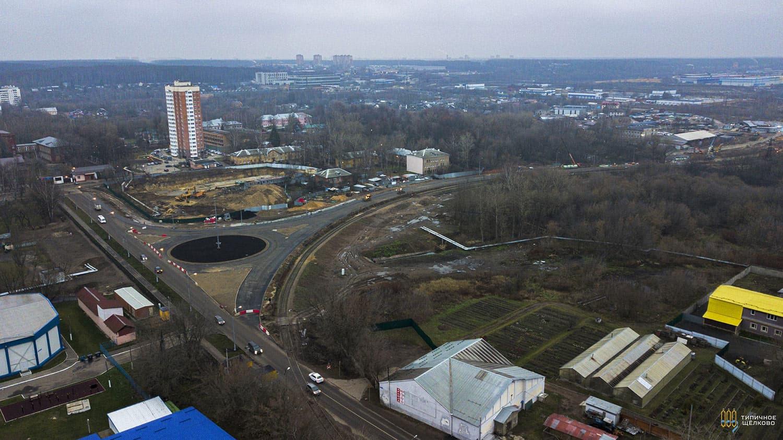 Новый мост через клязьму в Щелково