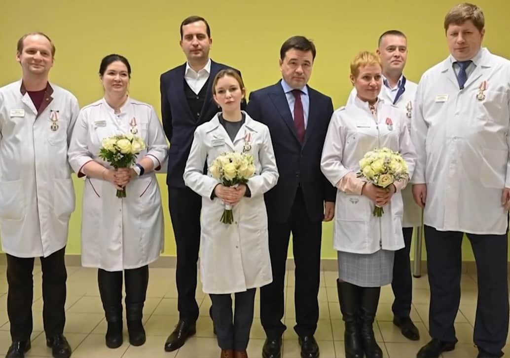 Губернатор Подмосковья посетил Щелковскую Областную больницу