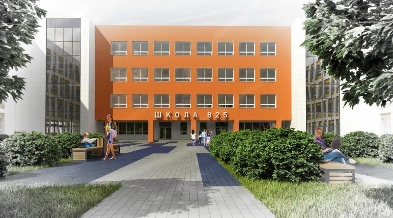 Проект новой школы в микрорайоне Финский в городе Щелково