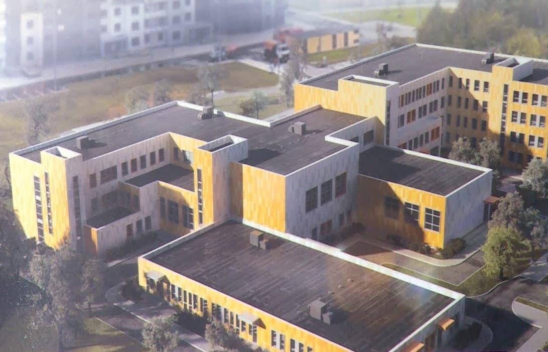 Проект новой школы в Щелково, микрорайон Солнечный