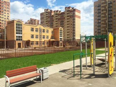 Детский сад с бассейном на 250 мест построили в Лукино-Варино, Щелковского района