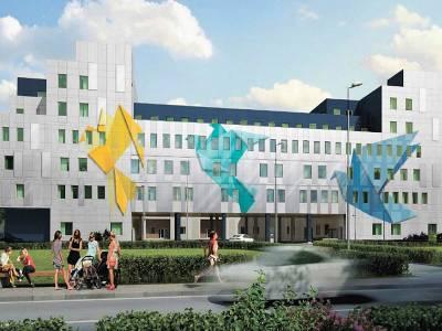Строительство перинатального центра в Щелково выходит на завершающий этап