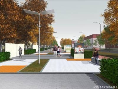 Началась подготовка ко второму этапу реконструкции ул. Парковой