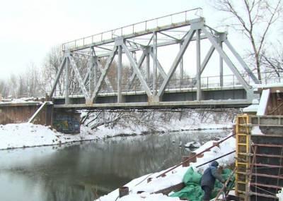 Мост через Клязьму в Щелково: стройка полным ходом